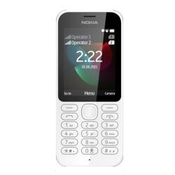 Foto Telefono cellulare Nokia 222 White Dual Sim Microsoft