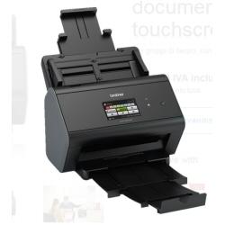 Scanner Brother ADS-2800W - Scanner de documents - Recto-verso - 215.9 x 5000 mm - 600 ppp x 600 ppp - jusqu'� 30 ppm (mono) / jusqu'� 30 ppm (couleur) - Chargeur automatique de documents ( 50 feuilles ) - USB 2.0, Gigabit LAN, Wi-Fi(n), USB 2.0 (Host)