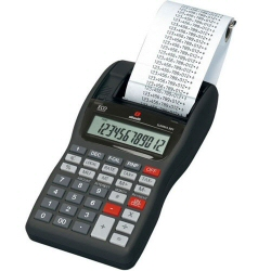 Calculatrice Olivetti SUMMA 301 - Calculatrice avec imprimante - LCD - 12 chiffres - adaptateur CA