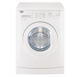 Lave-linge Beko WMB71022M - Machine à laver - pose libre - largeur : 60 cm - profondeur : 50 cm - hauteur : 85 cm - chargement frontal - 7 kg - 1000 tours/min - blanc