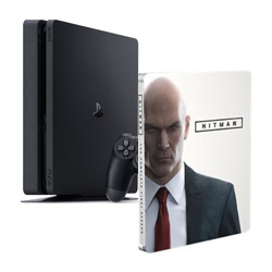PS4 Slim 500 GB + Hitman la 1° Stagione