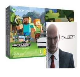 XBOX ONE S 500GB + Minecraft + Hitman la Prima stagione ad 1 Euro