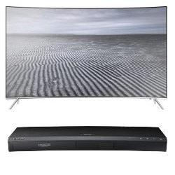 TV LED Samsung Smart UE55KS7500 + Blu-ray UHD 4K UBD-K8500/ZF a solo 1¤!