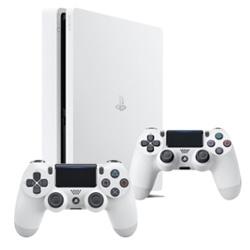 PS4 Slim 500GB White + 2° Dualshock