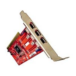Adattatore di rete Digital Data - 3-port firewire pci card