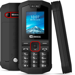 Telefono cellulare Spider x1 ip67 1.77  dual sim nero - crosscall - monclick.it