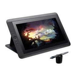 Tablette graphique Wacom Cintiq 22HD - Numériseur avec écran à cristaux liquides - 47.5 x 26.7 cm - électromagnétique - 16 boutons - filaire - USB - noir