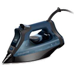 Fer à repasser Rowenta Everlast Anti Calc DW7110 - Fer à vapeur - semelle : Microsteam 400 Inox Laser Profile - 2700 Watt - bleu