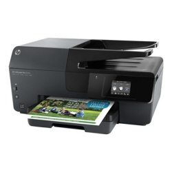Imprimante  jet d'encre multifonction HP Officejet Pro 6830 e-All-in-One - Imprimante multifonctions - couleur - jet d'encre - 212 x 356 mm (original) - A4/Legal (support) - jusqu'à 28 ppm (copie) - jusqu'à 29 ppm (impression) - 225 feuilles - USB 2.0, LAN, Wi-Fi(n), hôte USB