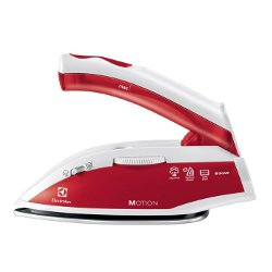 Fer à repasser Electrolux Motion EDBT800 - Fer à vapeur - semelle : inox - 800 Watt - rouge passion