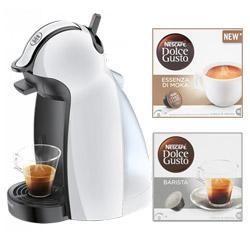 Macchina da caffè De Longhi - Dolce Gusto Piccolo EDG100W+ 32CAPS
