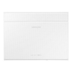 Coque Samsung Book Cover EF-BT800B - Protection à rabat pour tablette - blanc éclatant - pour Galaxy Tab S (10.5 po)