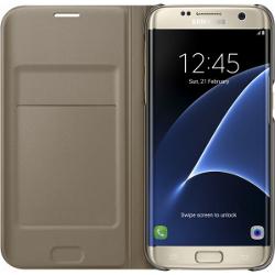 Cover EF-WG935PFEGWWM per Galaxy S7 Edge Plastica Oro