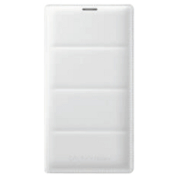 Cover Samsung - Flip wallet bianca note 4