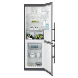 Réfrigérateur Electrolux EN3453MOX - Réfrigérateur/congélateur - pose libre - largeur : 59.5 cm - profondeur : 64.7 cm - hauteur : 184.5 cm - 318 litr