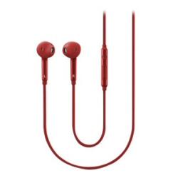 Samsung EO-EG920B - Écouteurs - intra-auriculaire - 3.5 mm plug - rouge - pour Galaxy Core Prime VE, S6