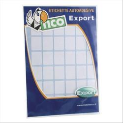 Tico Export - Étiquettes - papier - satin - auto-adhésif permanent - blanc - 150 x 115 mm 10 étiquette(s) (10 feuille(s) x 1)