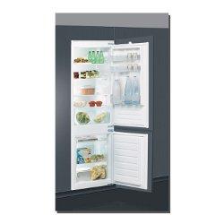 Réfrigérateur encastrable Indesit B 18 A1 D/I - Réfrigérateur/congélateur - intégrable - niche - largeur : 56 cm - profondeur : 55 cm - hauteur : 177.6 cm - 275 litres - congélateur bas - classe A+