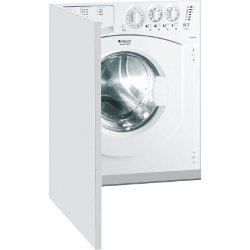 Lave-linge séchant encastrable Hotpoint CAWD 129 (EU) - Machine à laver séchante - intégrable - Niche - largeur : 60 cm - profondeur : 57 cm - hauteur : 82 cm - chargement frontal - 7 kg - 1200 tours/min