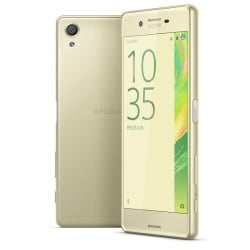 Smartphone Sony - Xperia X Lime Gold