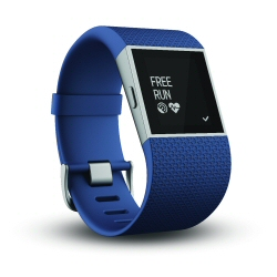 Smartwatch Fitbit - Surge Blue L