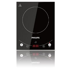 Plan de cuisson Philips Avance Collection HD4933 - Plaque chauffante à induction - 2000 Watt - noir