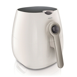 Friteuse Philips Viva Collection HD9220 AirFryer - Friteuse - 2.2 litres - 1425 Watt - blanc/argent