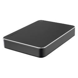 Disque dur externe Toshiba Canvio Premium - Disque dur - 3 To - externe (portable) - USB 3.0 - métallique gris foncé