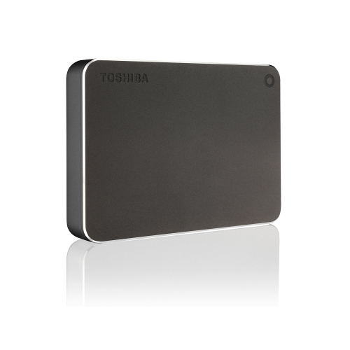 Toshiba - CANVIO PREM 3TB DARK GREY