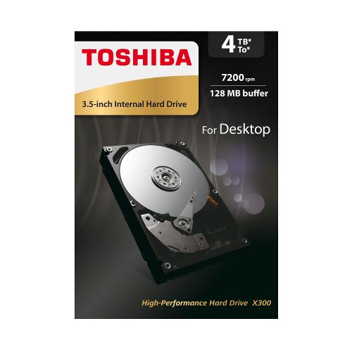 Toshiba - X300 HIGH-PERF HDD 4TB
