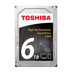 Hard disk interno Toshiba - X300 High Performance 6TB