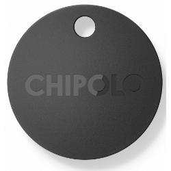 Chipolo Plus - Balise de sécurité sans fil - noir charbon