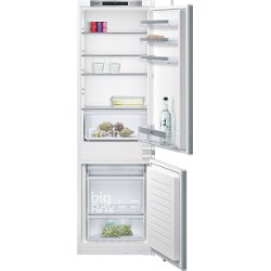 Réfrigérateur encastrable Siemens iQ300 KI86NVS30S - Réfrigérateur/congélateur - intégrable - niche - largeur : 56 cm - profondeur : 55 cm - hauteur : 177.5 cm - 255 litres - congélateur bas - Classe A++