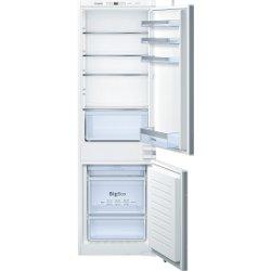 Réfrigérateur intégrable Bosch Serie 4 KIN86VS30 - Réfrigérateur/congélateur - intégrable - niche - largeur : 56 cm - profondeur : 55 cm - hauteur : 178 cm - 255 litres - congélateur bas - Classe A++