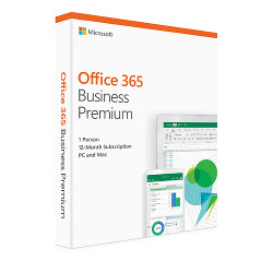 Software Office 365 business premium - box pack (1 anno)...