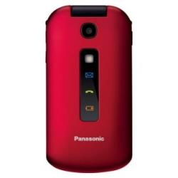 Téléphone portable Panasonic KX-TU329 - Téléphone mobile - microSDHC slot - GSM - 240 x 320 pixels - TFT - 2 MP - rouge