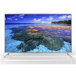 "TV LED Haier LE65U6500U - Classe 65"" TV LED - Smart TV - 4K UHD (2160p) - beige"