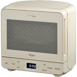 Micro ondes Whirlpool Max MAX 38 - Four micro-ondes grill - pose libre - 13 litres - 700 Watt - vanille