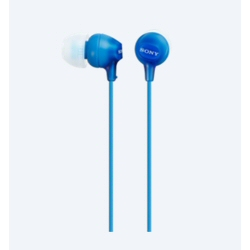 Sony MDR-EX15AP - EX Series - �couteurs avec micro - intra-auriculaire - jack 3.5mm - bleu