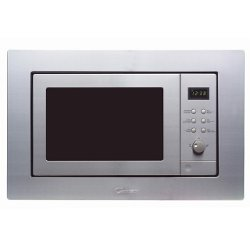 Micro-ondes encastrable Candy MIC 201 E X - Four micro-ondes grill - intégrable - 20 litres - 800 Watt - inox