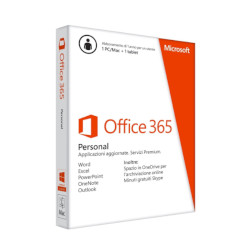 Software Office 365 personal - box pack (1 anno) - 1 persona qq2-00851