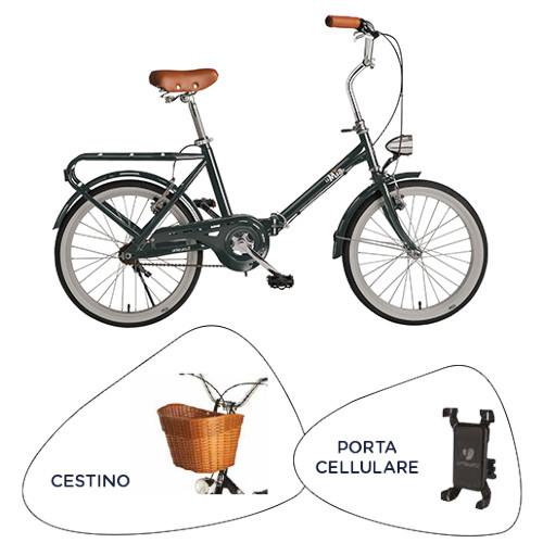Bicicletta BEBIKE - BICICLETTA PIEGHEVOLE IN ACCIAIO RU