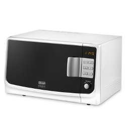 Micro ondes De'Longhi MW25GS - Four micro-ondes grill - pose libre - 25 litres - 900 Watt - blanc