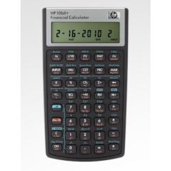Calculatrice HP 10bII+ - Calculatrice financière - 12 chiffres - pile