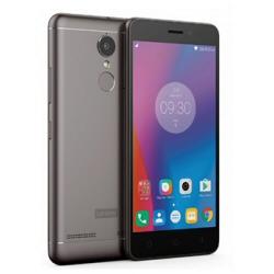 """Smartphone Lenovo K6 - Smartphone - double SIM - 4G LTE - 16 Go - microSDXC slot - GSM - 5"""" - 1 920 x 1 080 pixels - IPS - 13 MP (caméra avant de 8 mégapixels) - Android - gris foncé"""