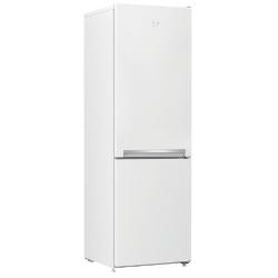 Réfrigérateur Beko RCSA270K20W - Réfrigérateur/congélateur - pose libre - largeur : 54 cm - profondeur : 60 cm - hauteur : 170.7 cm - 262 litres - con