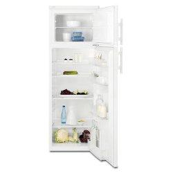 Réfrigérateur Electrolux RJ2800AOW2 - Réfrigérateur/congélateur - pose libre - largeur : 55 cm - profondeur : 60 cm - hauteur : 159 cm - 270 litres - congélateur haut - blanc