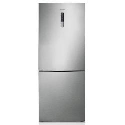 Réfrigérateur Samsung GGh-series RL4353RBASP - Réfrigérateur/congélateur - pose libre - largeur : 70 cm - profondeur : 69 cm - hauteur : 185 cm - 435