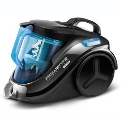 Aspirateur Rowenta Compact Power Cyclonic RO3731EA - Aspirateur - traineau - sans sac - bleu/noir