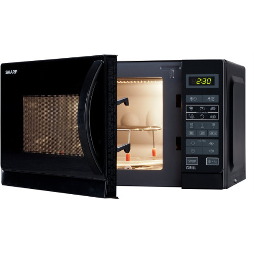 Forno a microonde Sharp - SHARP MICROONDE R-642BKW